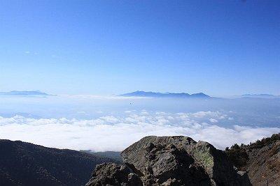 雲海が素晴らしく綺麗