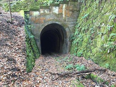 三号トンネルの出口にでてきた