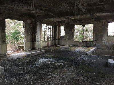 駅廃墟2F