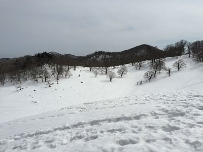 明神岳方面