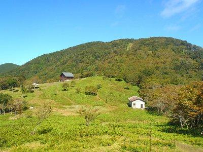 明神岳へ向かう