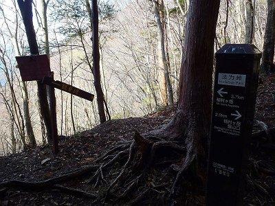 稲村ヶ岳まであと2.9km