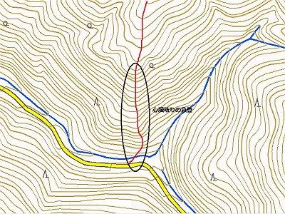 地図みるとこの通り。標高約200mがかなりきつい。<br />距離はないんだが・・・