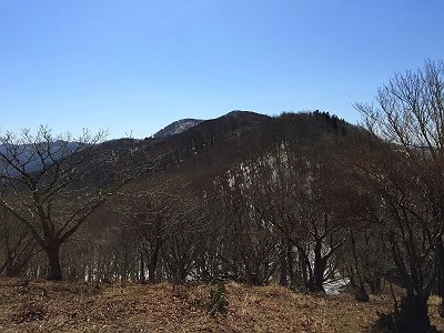 馬駈ノ辻から国見山を望む。何ピーク超えるのか!?
