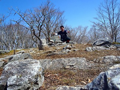今回のメイン山頂なので記念撮影