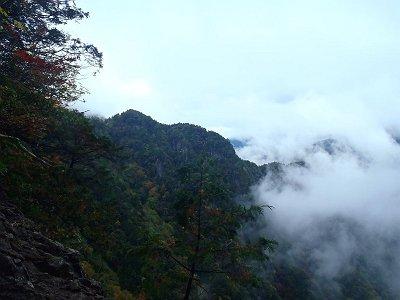 雲がかかる風景もよい