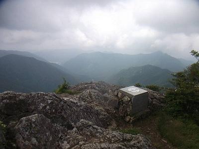 日本岩からの展望