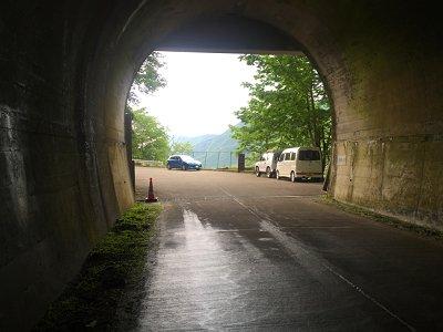 涼しく長いトンネルを抜けて東口に到着。本日もお疲れ様でした~