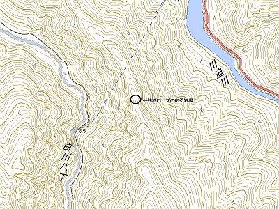 岩場の場所